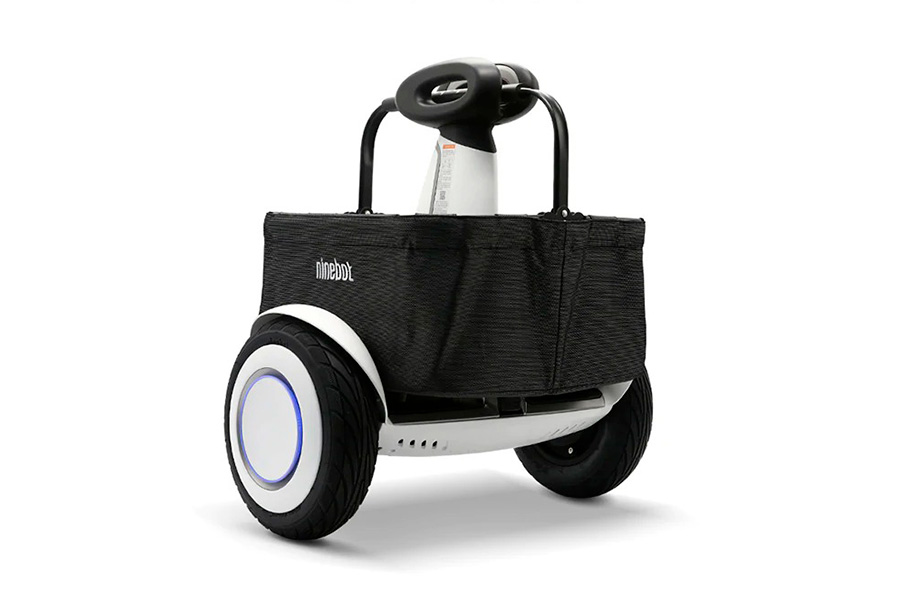 Корзина для покупок на Ninebot Mini