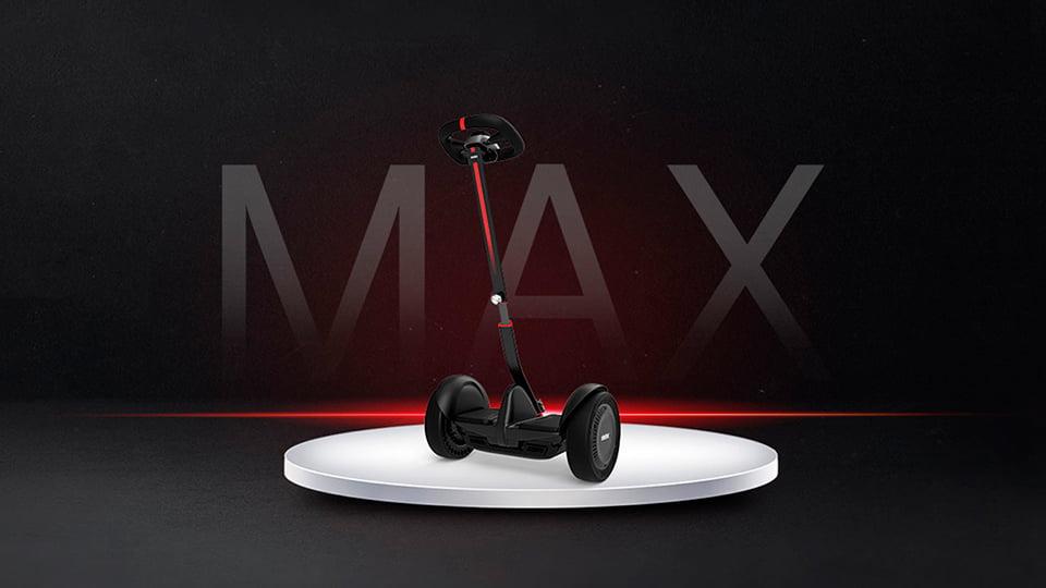Анонс нового мини-сигвея Ninebot S MAX!