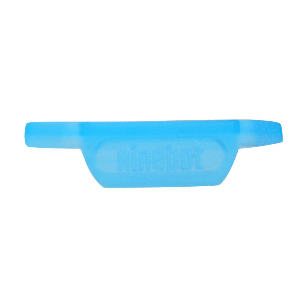 Декоративная резиновая накладка под руль с логотипом для Ninebot- E, E+ (10.01.1072.00) синяя