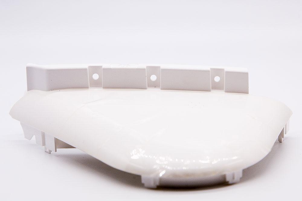 Пластиковая половина верхнего корпуса для Ninebot MiniPRO левая, белый (10.01.3163.00)