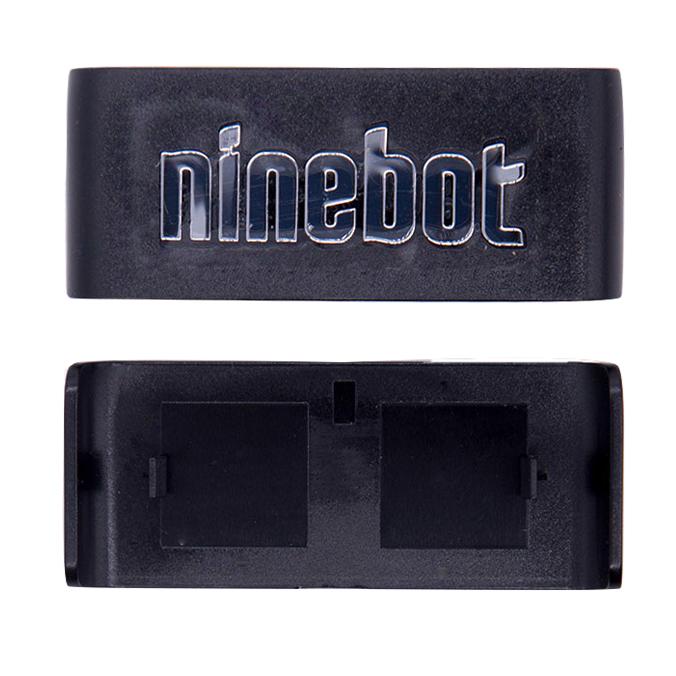 """Пластиковая накладка с логотипом """"Ninebot"""" для Ninebot MiniPRO.Чёрная (10.01.3206.01)"""
