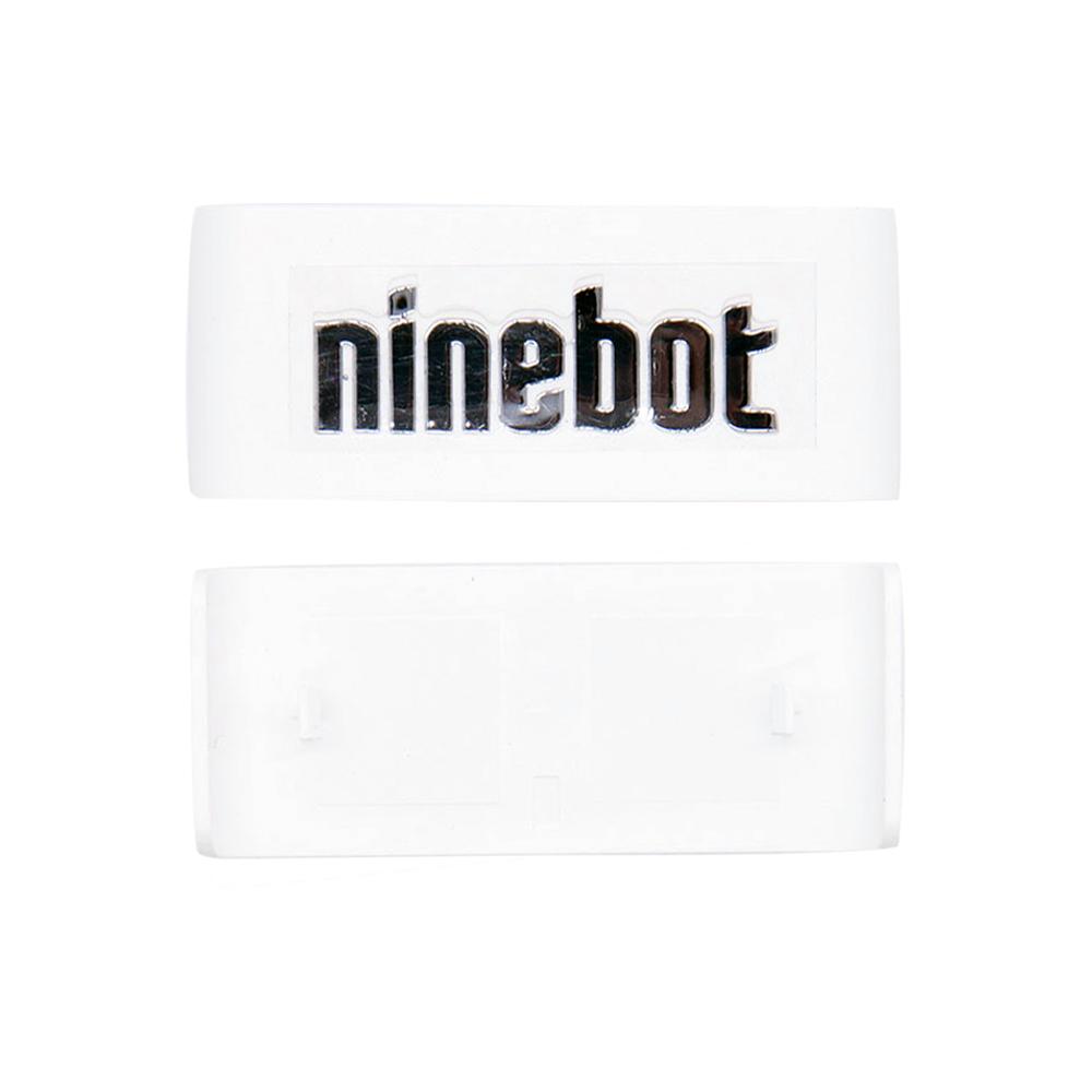 """Пластиковая накладка с логотипом """"Ninebot"""" для Ninebot MiniPRO. Белая (10.01.3206.02)"""
