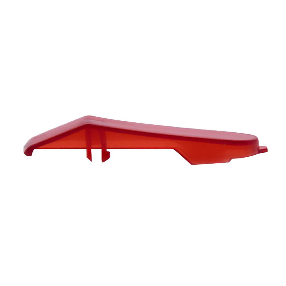 Декоративная накладка на колпак, прозрачно-красная для Ninebot MiniPRO (10.01.3202.00)