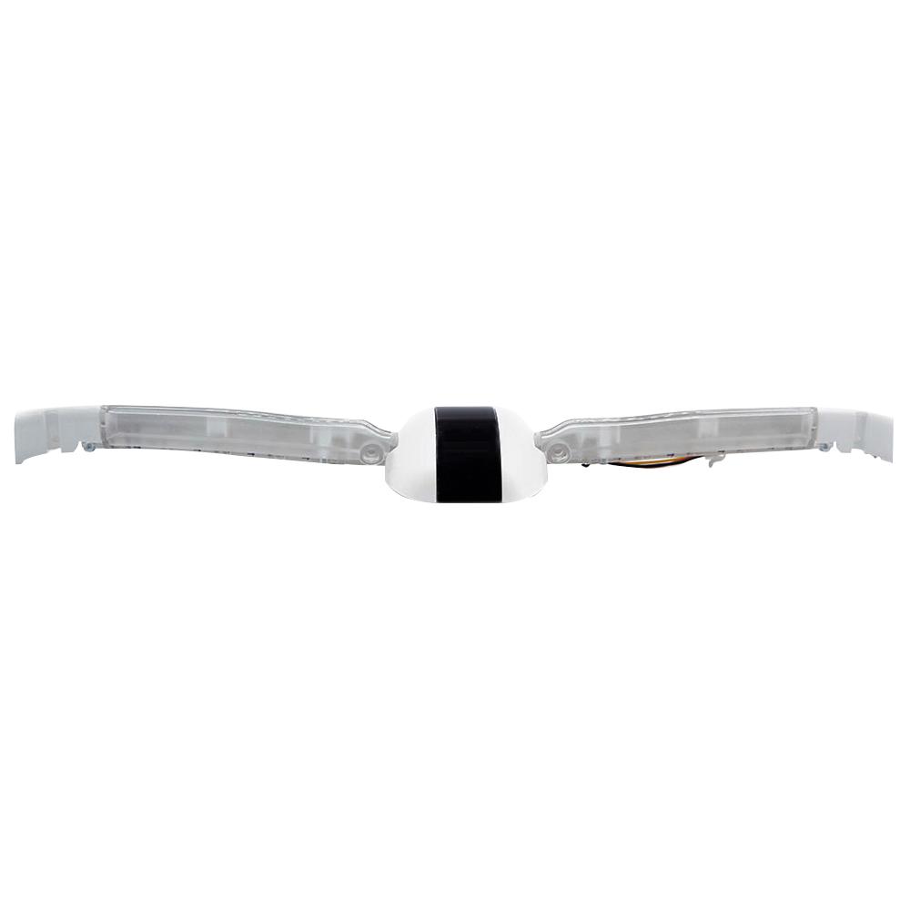 Бампер задний в сборе (диоды, коннекторы) для Ninebot MiniPRO. Белый (10.02.3069.00)