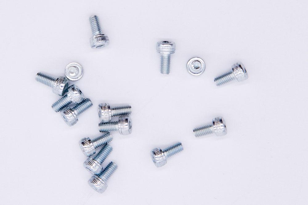 Винт стальной с шестигранной головкой М3х6 для Ninebot (10.01.3080.00)