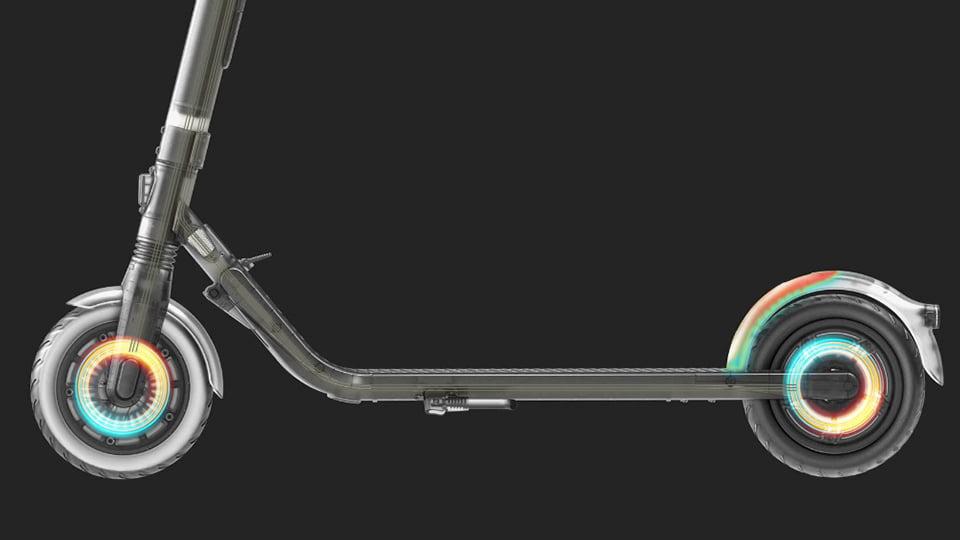 Система торможения Ninebot KickScooter e45