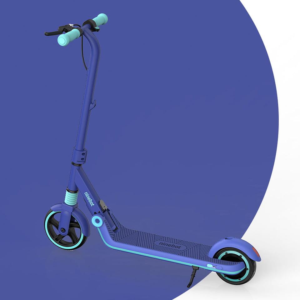 Купить детский электросамокат Ninebot eKickScooter Zing E8 Blue